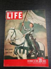 LIFE Magazine, November 15th 1948