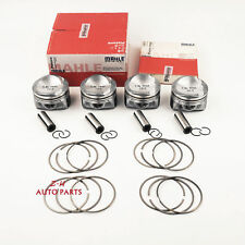 Brand New 4x Mahle Pistons & Rings 82.5mm Φ21mm For Audi A3 TT VW Passat 1.8TSI