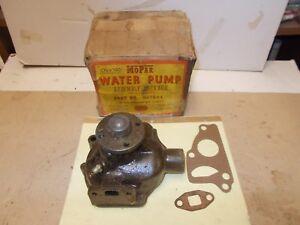 Mopar NOS Water Pump Assy. 35-50 Plymouth, Dodge, 36-54 DeSoto, Chrysler 6Cyl