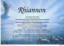 PERSONALISED FIRST NAME MEANING CERTIFICATE HORSES HORSE BACKGROUNDS