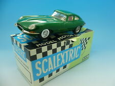 Scalextric C34 español E-Tipo Jaguar, Verde