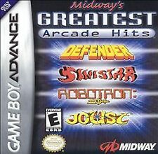 Midways Greatest Arcade Hits Defender Joust Robotron NEW sealed Game Boy Advance