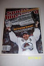 2001 Sports Illustrated COLORADO Avalanche STANLEY CUP Champs BOURQUE News Stand