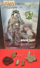 1/6 APACHE PILOT PROTECTIVE VEST, STETSON AND EXTRA GEAR LOT FROM BBI