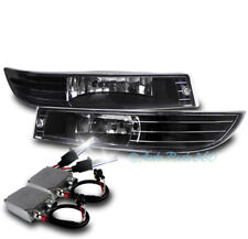 00-05 CHEVROLET IMPALA BUMPER DRIVING FOG LIGHT LAMP CLEAR LENS W/50W 6K HID KIT