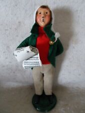 1990 Byers Choice Caroler Boy With Tan Pants