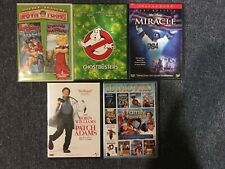 Lot Of 5 Family Kids Dvd Movies Ghostbusters Miracle Patch Adams Archie Favorite