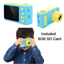 "Child Kids Toy 2"" Screen HD 1080P Digital Photo 2MP USB Camera 8GB SD Card Gifts"