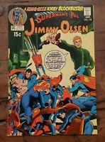 SUPERMAN'S PAL JIMMY OLSEN #135 (1971) VF- ( 2ND APPEARANCE DARKSEID) JACK KIRBY