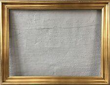 GROSSER BILDERRAHMEN 56 x 76 - HANDVERGOLDET - KÜNSTLERLEISTE - GOLD ÖLGEMÄLDE
