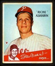 Banty Red Stan Says #4 RICHIE ASHBURN, Philadelphia Phillies