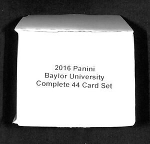 2016 Panini Collegiate_Baylor University Bears_Complete 44 Card Set_Max Muncy