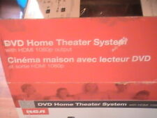 DVD Home Theater System with HDMI 1080p Output RCA 130 Watts New