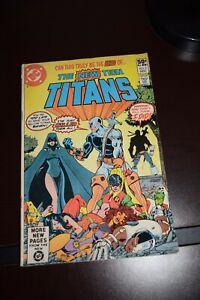 New Teen Titans #2 G/VG 1980 1st app. Deathstroke the Terminator!