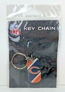 Chicago Bears Logo Key Ring Keychain NFL Licensed NIP