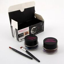 Hot Miss Rose Long Lasting Waterproof Black And Brown Eyeliner Gel Brush Set