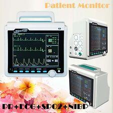 ICU CE 4 Paramètres  Monitor des patients NIBP SPO2 Pulse Rate ECG EKG  6000A