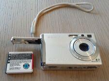 Sony Cyber Shot DSC-W90 8.1 Megapixel 3x Opt Zoom Digital Camera Silver UNTESTED