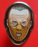 Hannibal Lecter Pin Horror Halloween Movie Enamel Brooch Badge Lapel Cosplay
