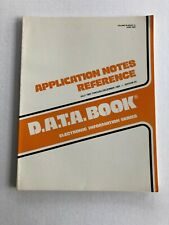 Vtg Electronics Magazine D.A.T.A. Book Application Notes Dec 1983 Edition 24
