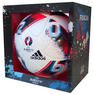 ORIGINAL ADIDAS EURO 2016 FINALE FRACAS FRANKREICH MATCHBALL SPIELBALL AO4851