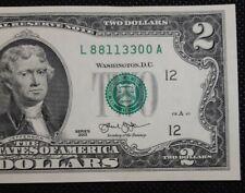New Listing$2 Fancy Double 88113300 San Francisco Gem Crisp