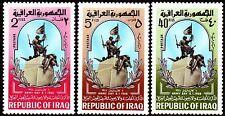 Iraq iraq 1966 ** mi.438/40 giorno dell'Esercito Army Day monumento Monument