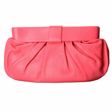 Red Valentino Women's Pink 100% Leather Clutch