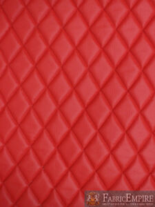 """Quilted Vinyl Pebble Grain Texture Diamond 2"""" x 3"""" With 3/8"""" Foam Backing"""