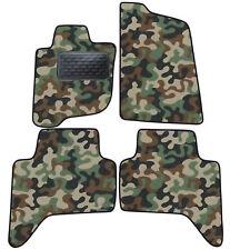 Armee-Tarnungs Autoteppich Autofußmatten Auto-Matten für Mitsubishi L200 2006-16