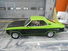 OPEL Manta A TE 2800 green grün schwarz Black 1975 V6 BOS Resin SP  1:18