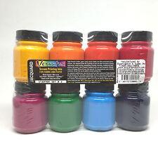 Jacquard Versatex Screen Printing Ink Water Based Fabric Starter Kit Pack Set 2