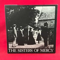 "SISTERS OF MERCY The Damage Done 1980 UK 3-track 7"" Vinyl single first issue"