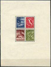 Surinam 1953-1955 SG#MS418 Wildlife, Scenes MH M/S #D86483