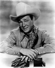 New 11x14 Photo: Legendary Western Cowboy Actor and Singer Roy Rogers