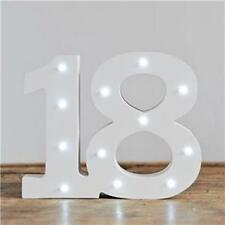 Up In Lights Milestone Numbers - 18