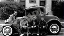1950's Rebels Vinyl Banner Hot Rod V8 Motor Ford 1932 Garage Man Cave Decor