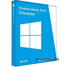 Windows Server DATA CENTER 2016 Key + Download Link