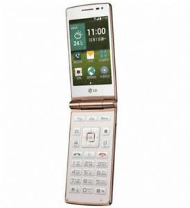 LG Wine Smart D486 4G ROM 1G RAM Android Flip Phone 4G LTE WIFI GPS Smart Phone
