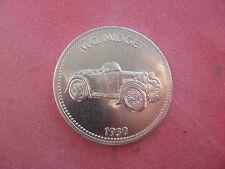 1930 M.G. MIDGET Motorcar SHELL TOKEN COIN