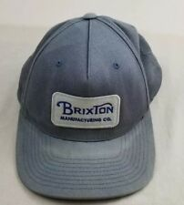 f71f7c3c235 Brixton Manufacturing Co. Men s Snapback Cap Hat