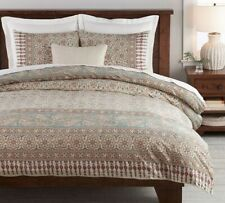 Pottery Barn ~ Selena Kalamkari Duvet Cover KING + 3 Euro Shams ~ NEW