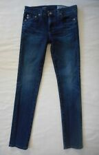 AG Adriano Goldschmied Jeans Prima Mid-Rise Cigarette Skinny 4 yr Size 25