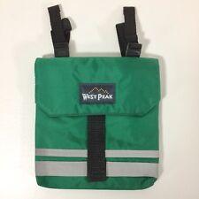 Green Insulated Saddle Bag Pocket Mini Trail Riding Endurance English Reflective