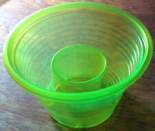 50 Disposable Plastic Bomb Party Shot Glasses Cups Great W/ Jager NEW NEON GREEN