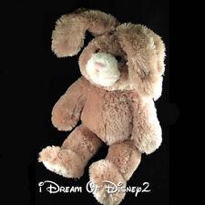 Build-A-Bear 'MOCHA' BROWN BUNNY RABBIT Bendable PINK EARS Plush Stuffed Animal
