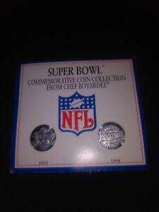Chef Boyardee NFL Super Bowl Promo Commemorative Coin Collection 1993 1994