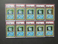 Pokemon PSA 1-10 BLASTOISE 2/102 - BASE SET HOLOS - RARE COLLECTION