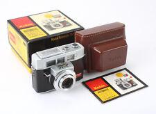 KODAK AUTOMATIC 35F 44/2.8 EKTANAR, BOXED, BAD SHUTTER & METER, AS-IS/cks/196318