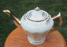 Hall China ALBANY Teapot...IVORY GOLD LABEL...downsizing PREMIER collection!